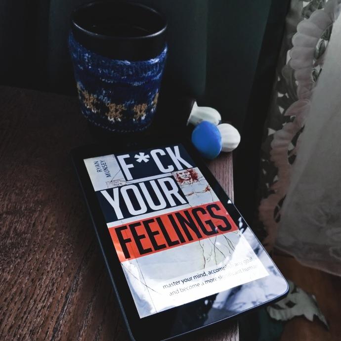 fuck your feelings book photo